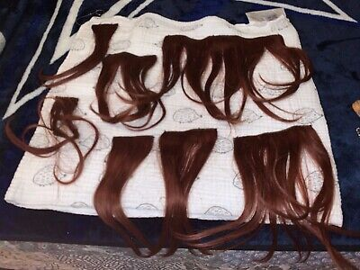 7 Piece Hair Extension Red Hair Clip-In Extensions