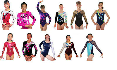 NEW! Child Large Clearance Gymnastics Competition Leotards - 50 to choose from