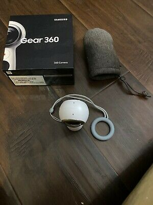 Samsung Gear 360 (2017) Camcorder (Model SM-R210NZWAXAR) - White FREE SHIPPING