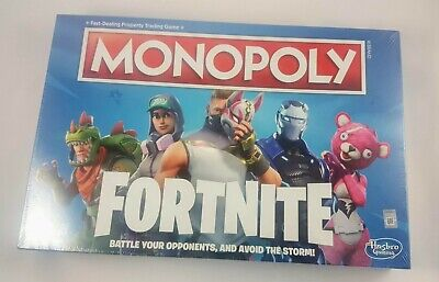 MONOPOLY Fortnite Edition Board Game Original - New In Sealed Box