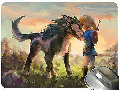Legend of Zelda Breath of the Wild Mouse Pad Mouse Mat Mousepad M0672