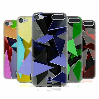 HEAD CASE DESIGNS GLASS FRAGMENTS SOFT GEL CASE FOR APPLE iPOD TOUCH MP3