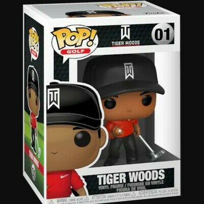 Funko POP! Golf: Tiger Woods (Red Shirt) Limited In stock