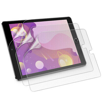 Clear Soft Hydrogel Film Screen Protector For iPad 7th Generation 10.2 inch 2019
