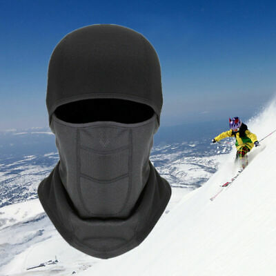 US Windproof Fleece Balaclava Ski Full Head Case Neck Warm Winter Caps Men Women