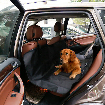 Waterproof Pet Dog Car Rear Back Seat Cover Blanket Cushion Protector Hammock