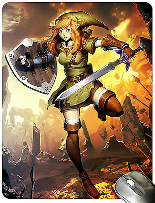 The Legend of Zelda - Linkle Mouse Pad Mouse Mat Mousepad M0083