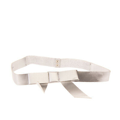 DENNY ROSE Waist Belt Size M/L Partly Elasticated Metallic Effect Made in Italy