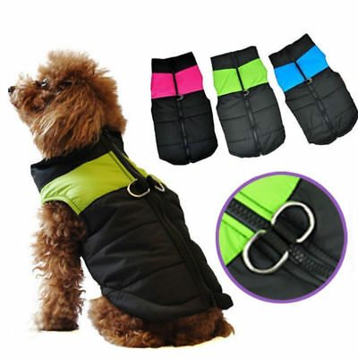 Dog Coat Winter Warm Waterproof Padded Jacket Clothes Coat For Small / Large Pet