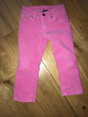 Ralph Lauren Pink Cords Jeans Trousers Age 2