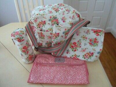 Cath Kidson baby changing bag  pink & white floral