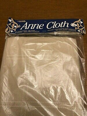 """Anne""""s Cloth, 18 count, cross stitch fabric, ivory"""