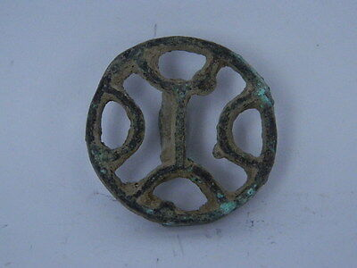 Ancient Bronze Seal/Stamp Bactrian 300 BC #Ik329