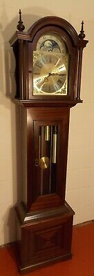 Grandfather Clock- Exc Cond/New Hermle Wchime/NATIONWIDE PERSONAL DELIVERIES