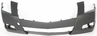 Front Bumper Cover For 2008-2015 Cadillac CTS w// fog lamp holes Primed