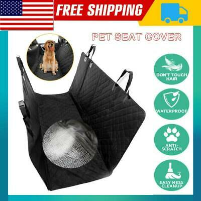 Waterproof Dog Car Seat Cover Hammock for Pet SUV Van Back Rear Bench Pad Mat BS