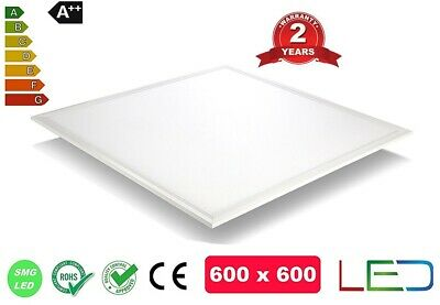 40W Ceiling Suspended Recessed LED Panel White Light Office Lighting 600 x 600