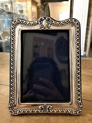 Lovely Antique Solid Silver Art Nouveau Photo Frame, Hallmarked Chester 1901