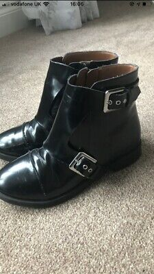 Zara Girls Ankle Boots Size 34