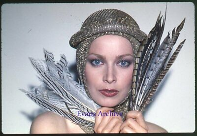 1960s High Fashion w/ Feathers Photo Transparency Slide Lot Avedon Asst (10pc)