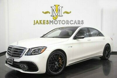 2018 Mercedes-Benz S-Class S63 AMG~$203,600 MSRP!~EXEC SEATING~CERAMIC BRAKES 2018 MERCEDES S63 AMG~$203,600 MSRP!~EXEC SEATING~CERAMIC BRAKES~MASSIVE OPTIONS