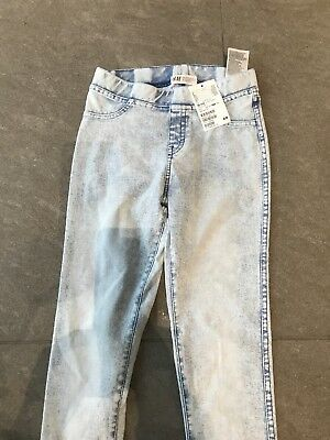 JEANS/ JIGGING AGE 9-10 Yrs. PALE BLUE VERY SOFT STRETCHY MATERIAL H&M  Xmas
