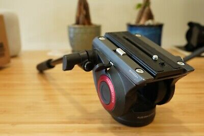 Manfrotto MVH500AH Professional Fluid Video Head With Flat Base