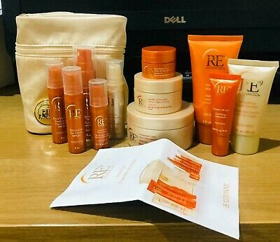 arbonne do the bright thing travel bag and minis