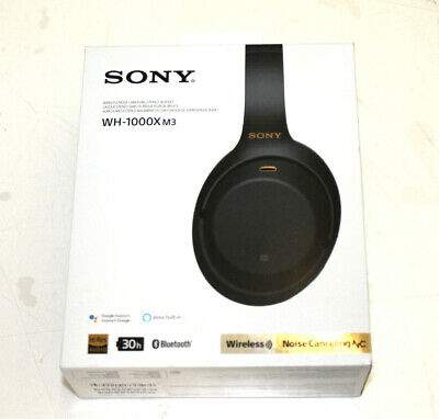 Sony WH1000XM3 Wireless Industry Leading Noise Canceling Overhead Headphones Blk