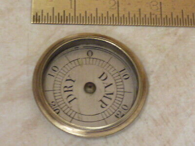 Old-Antique Wheel Barometer Hygrometer For Restoration (Z1) Free Post