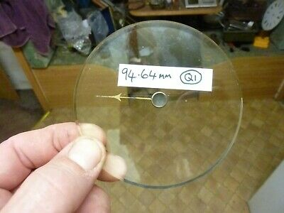 Good Old Aneroid Barometer Bevelled Glass - Hand-Set Knob (Q1) Free Post