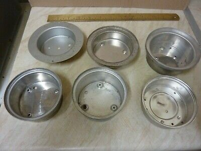 """6 Old-Aneroid  Barometer Inner Cases For 2 2/4""""  Movements,,(K) Free Uk Post"""