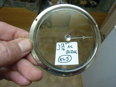Good Aneroid Barometer Bezel-Bevelled Glass- Set Knob & Hand-Free Post (Kl5)
