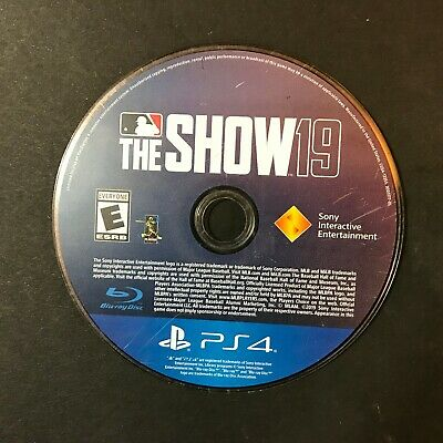 MLB 19: The Show (PS4) Disc Only # 40239
