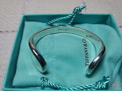 Tiffany & Co. Sterling Silver .925 Cuff Bracelet w/ Box & Pouch