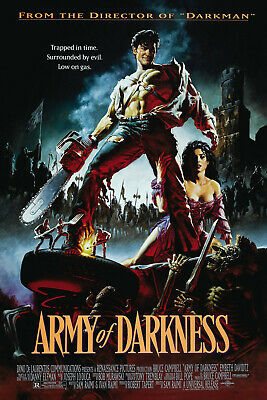 "ARMY OF DARKNESS 11""x17"" MOVIE POSTER PRINT"