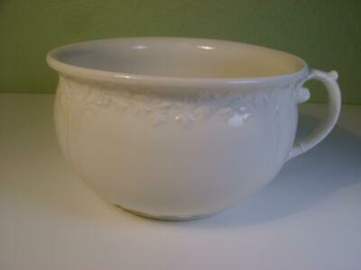 Antique Baker & Co. Ironstone Chamber Pot White Potty Made In England