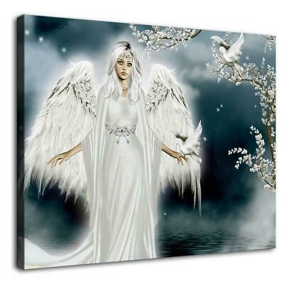 "16""x20""Angel Wings HD Canvas prints Painting Home Decor Picture Room Wall art"
