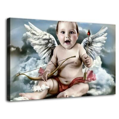 """16""""x26""""Angel Baby HD Canvas prints Painting Home Decor Picture Room Wall art"""