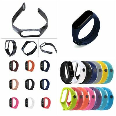 For Xiaomi Mi Band 4 3 Sport Replace Silicone Wrist Watch Band Strap Bracelet