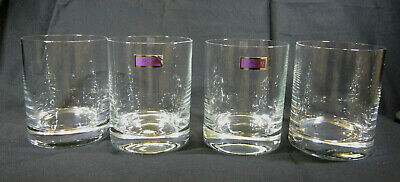 4  WATERFORD MARQUIS Crystal Double Whiskey Old Fashioned GLASSES 2 Available