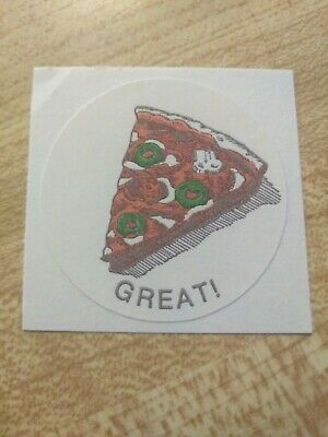 Vintage CTP77 Pizza Scratch and Sniff Sticker