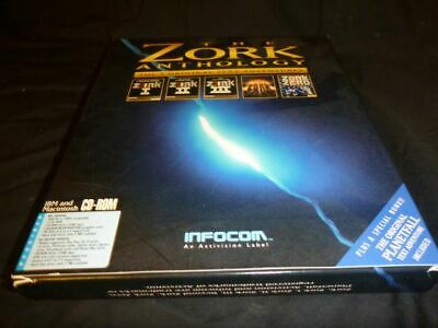 The Zork Anthology Computer Game on CD