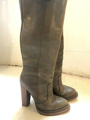 Scanlan Theodore Knee-High Leather Boots Size 38