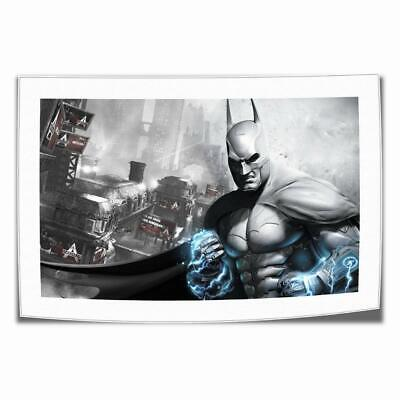 "16""x26""Batman Arkham Asylum Posters HD Print on Canvas Home Decor Wall Art photo"