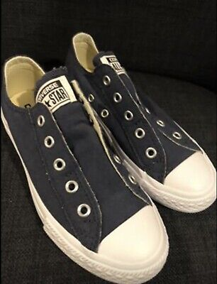 Junior Boys Converse Laceless Trainers Size 13