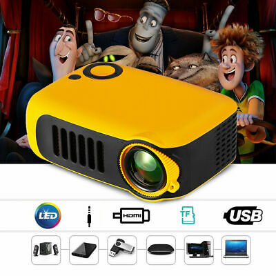 Lightweight Mini Portable Projector Supports 1080P LCD Home Video Projector HDMI