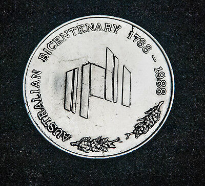 Australian Bicentenary Medallion -Education
