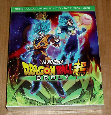 Dragon Ball Super Broly Collezzionista Blu-Ray + DVD + extra + Libro (senza