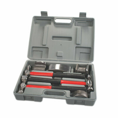 7 Pce Vehicle Auto body Repair Tool Kit - with Fibre glass Handles - Dents Dings